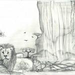 Löwe Katze 1